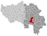 Stavelot Liège Belgium Map.png