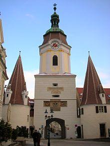 La Steiner Tor, porte de l'enceinte de Krems