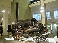 """Stephenson&squot;s Rocket, de eerste """"moderne"""" locomotief"""