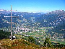 Sterzing-Vipiteno and Elzenbaumer Wetterkreuz.JPG