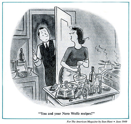 Stan Hunt's cartoon appeared in The American Magazine (June 1949).