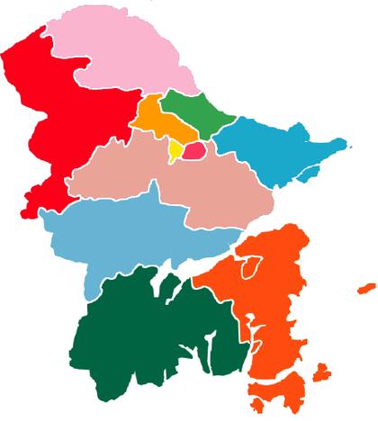 Subdivisions of Ningbo-China.png