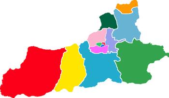 Subdivisions of Xi'an-China.png