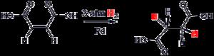 Hydrogenation of maleic acid