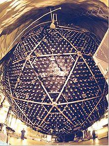 The neutrino detector at the Sudbury Neutrino Observatory