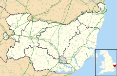 Haverhill is located in Suffolk