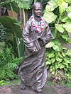 Statue of Sun Yat-sen as a school boy in Honolulu, Hawaii, age 13