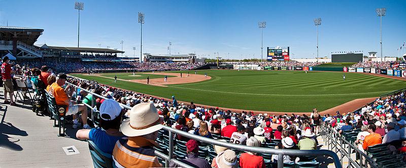 Panorama of Surprise Stadium