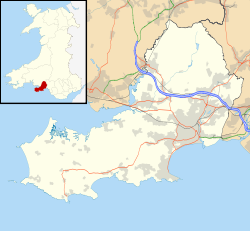 Gorseinon is located in Swansea