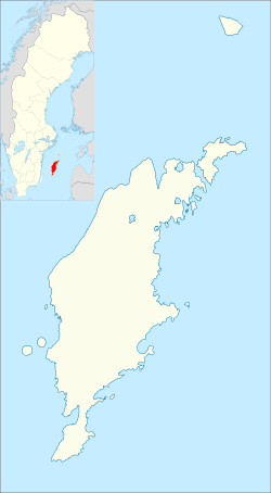 Gotland is located in Gotland