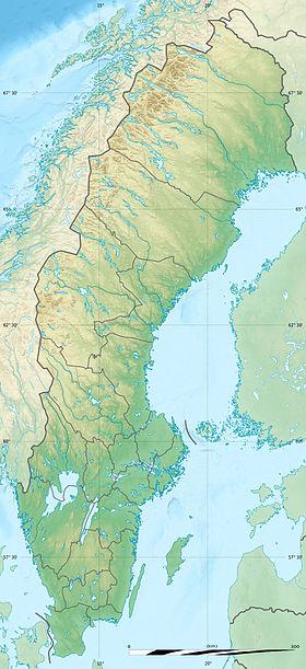 (Voir situation sur carte: Suède)