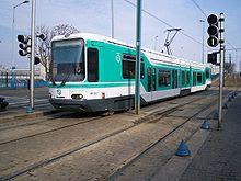 Signalisation tramway à la station Hôpital Avicenne.