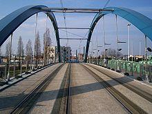 Le pont de Bondy.