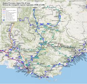 Image illustrative de l'article TER Provence-Alpes-Côte d'Azur