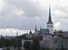 Église Oleviste de Tallinn