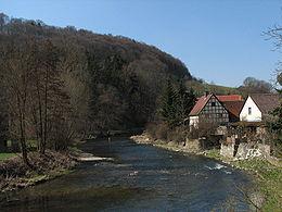La vallée de la Tauber à Tauberzell