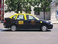 Taxi de Buenos Aires.