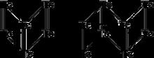 Skeletal formula of technetium hydride described in the text.