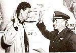 Ted Williams swearing into the Navy 1942 .jpg