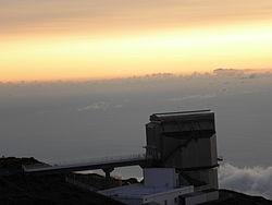 Telescopio Nazionale Galileo near time of sunset.jpg