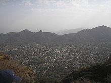 Vue générale de Morelos où a lieu le tournage de Sierra Torride
