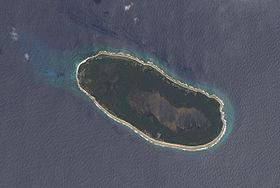Image satellite de Teraina.