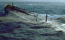 The Amoco Cadiz off the coast of Brittany, France on March 16, 1978.jpeg