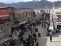 The Barkhor, both a place for walking meditation and shopping.jpg