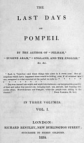 The Last Days of Pompeii 1834 1st ed.jpg