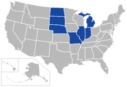 The Summit League locations