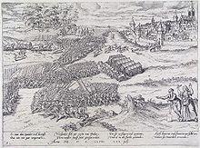 The siege of Dalen on july 22, 1568 (Frans Hogenberg).jpg
