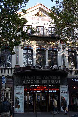 Le théâtre Antoine en 2007