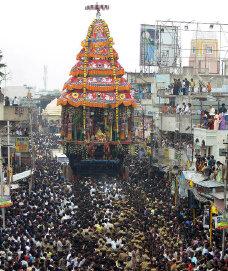Thiruvannamalai annamalaiyar chariot festival