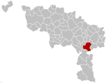 Thuin Hainaut Belgium Map.png