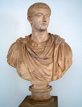 Buste van Tiberius (Museo Archeologico Regionale, Palermo).
