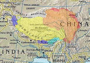 Tibet culturel/historique et revendications territoriales diverses