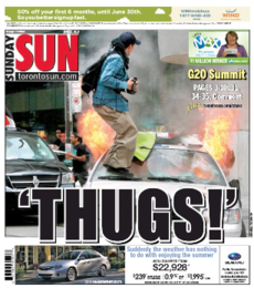 The Sun cover from June 27, 2010.