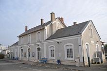 La gare de Toury.