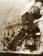 L'accident ferroviaire de 1895.