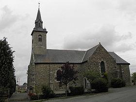 L'église paroissiale de Trimer.