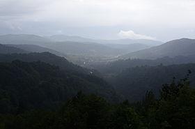 La vallée de Trnovo