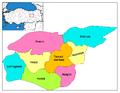 Districts of Tunceli