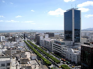 View of Tunis