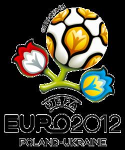 Logotype officiel de l'Euro 2012.