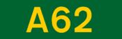 A62 road shield