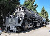 La Big Boy 4014 préservée à Pomona (Californie).