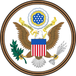 Obverse side of the Great Seal of the United States