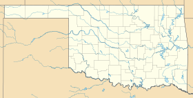 Iron Post is located in Oklahoma