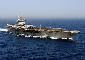 Enterprise underway in the Atlantic Ocean during Summer Pulse 2004.