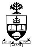 Blason de l'Université de Toronto